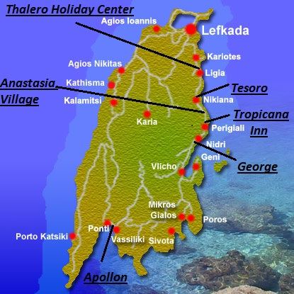 Insula Lefkada Paradisul Salbatic Al Greciei Cu Cele Mai