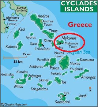Mykonos Plaje Soare Lux Si Viata De Noapte