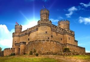 castel-medieval-manzanares-spania