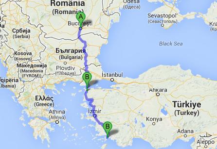 "harta turcia marmaris MARMARIS, cel mai ""european"" oras de pe coasta turca! harta turcia marmaris"