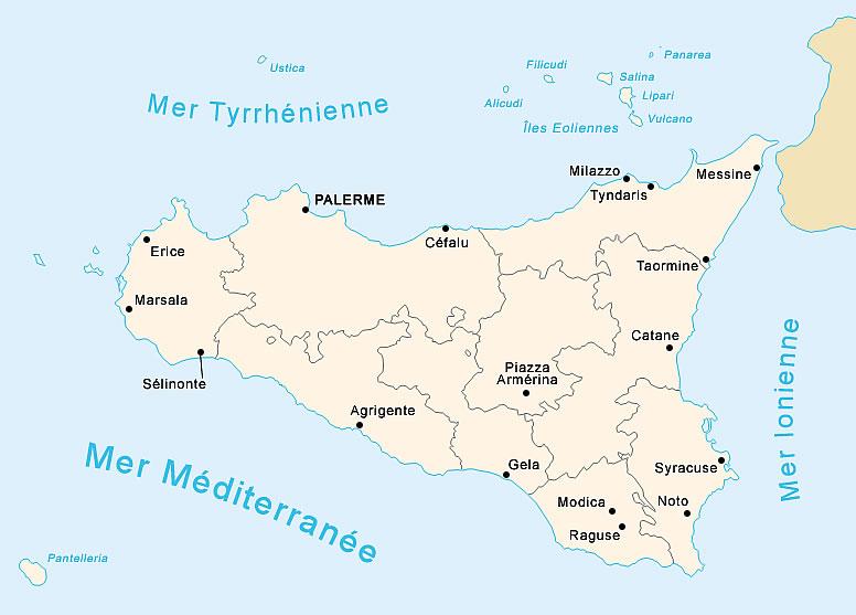 Insula Sicilia Cea Mai Mare Insula Din Marea Mediterana
