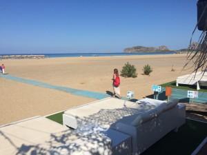 Plaja din Falassarna Insula Creta