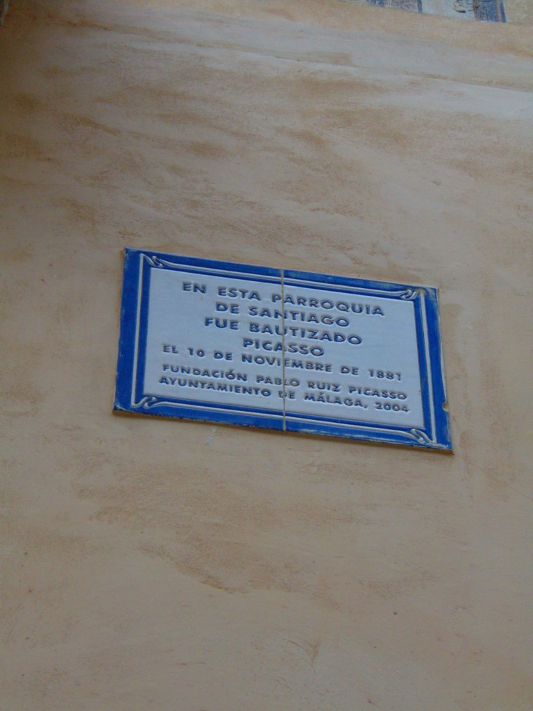 biserica unde a fost botezat Picasso