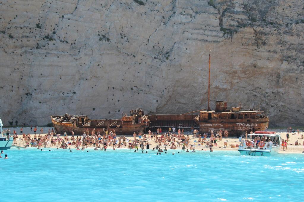 Plaja Shipwreck oferte vacanta zakynthos