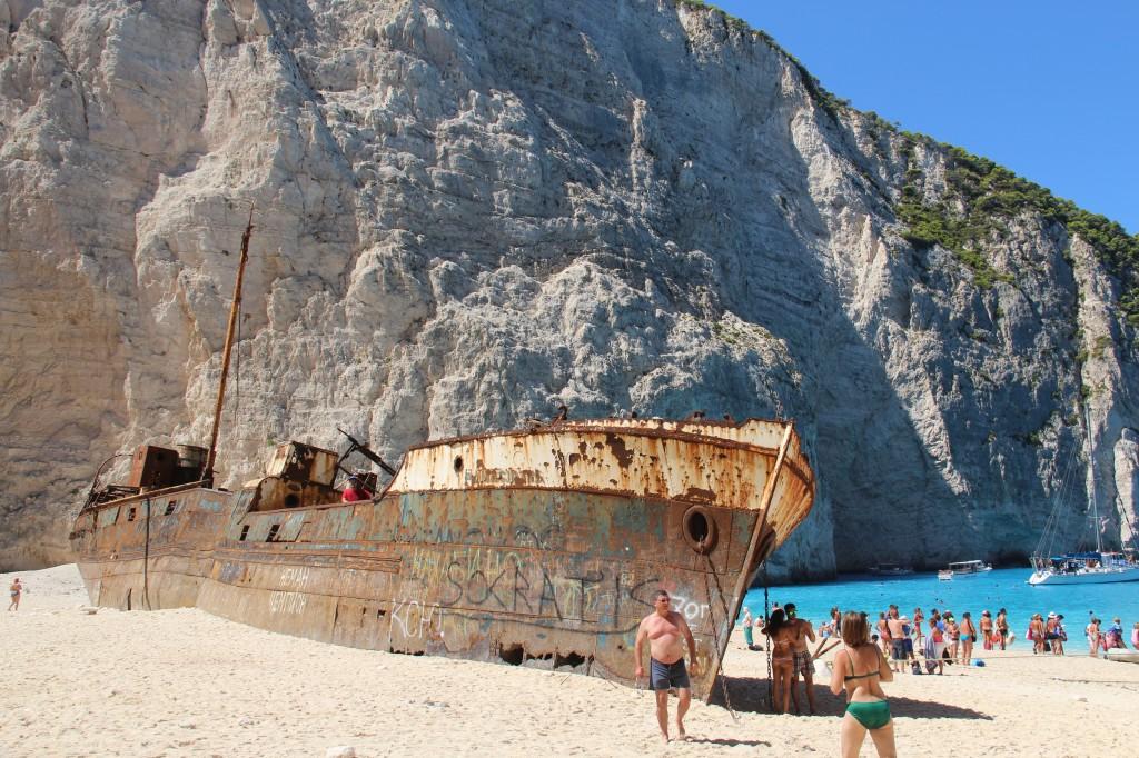 1.Plaja Shipwreck oferte vacanta zakynthos